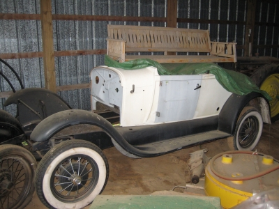 1929 Ford Model A Shay Body